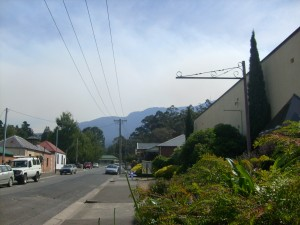 Bush fire February 7th 2013