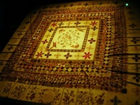 Yuur Chance to see the Rajah Quilt